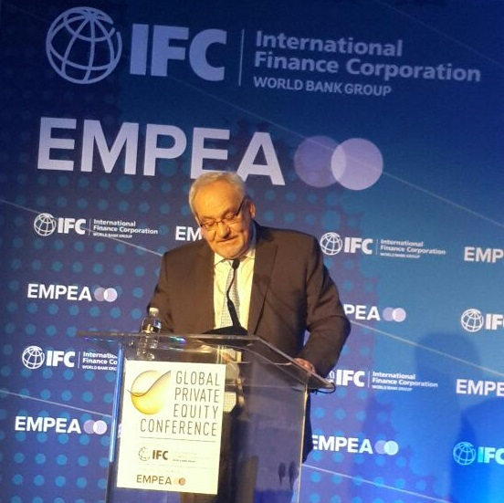 IFC Executive Vice President and CEO Philippe Le Houérou