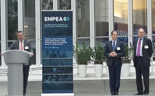 EMPEA President and CEO Robert W. van Zwieten